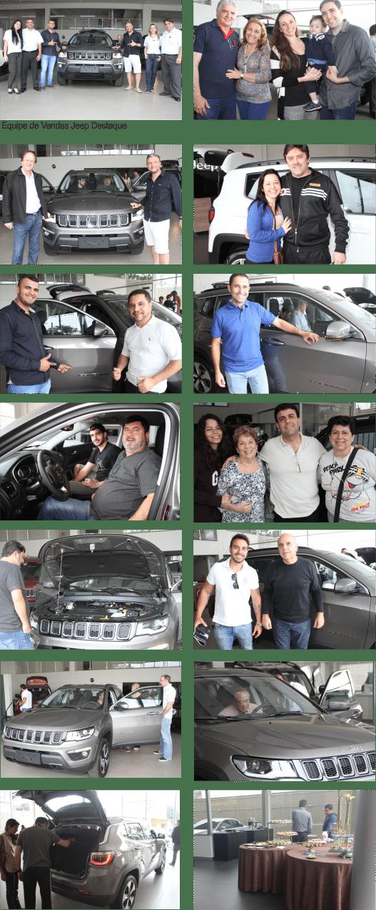 Galeria de imagens lançamento Jeep Compass na Destaque Jeep Santo André