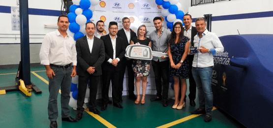 Ganhadora da promoção Hyundai/Shell