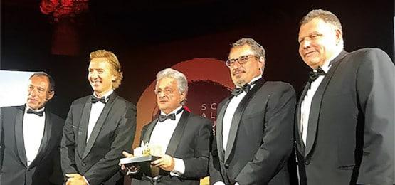 Evento de premiação em Mônaco premia Nissan