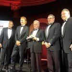 Representantes Destaque Nissan durante premiação
