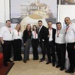 Equipe Nissan durante evento de premiação