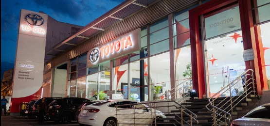 Evento de lançamento do Corolla 2020 na Destaque Toyota Campinas